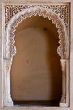 Alcazaba - Decorated gateway detail Stock Photos