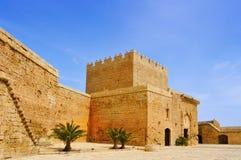 Alcazaba di Almeria, a Almeria, la Spagna Immagine Stock Libera da Diritti