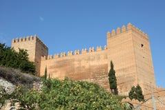 Alcazaba di Almeria, Spagna Fotografia Stock Libera da Diritti