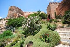 Alcazaba en Málaga imagenes de archivo