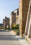 Alcazaba Fortress in Malaga Stock Photos