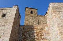 Alcazaba Fortress in Malaga Royalty Free Stock Photography