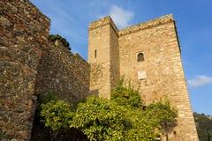 Alcazaba Fortress in Malaga Royalty Free Stock Image