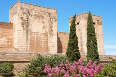 The Alcazaba in Granada Stock Image