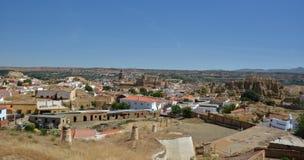 Alcazaba a Guadix Fotografie Stock Libere da Diritti