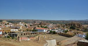 Alcazaba in Guadix Royalty Free Stock Photos