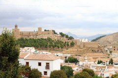 Alcazaba, historical building at Antequera Royalty Free Stock Photos