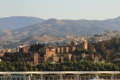 Alcazaba Màlaga, Spanien Stockfotos