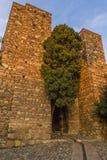 Alcazaba of Malaga, Spain Stock Images