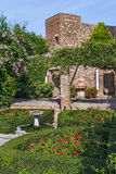 Alcazaba of Malaga, Spain Stock Images