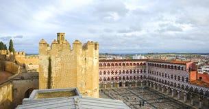 The Alcazaba and Plaza Alta in Badajoz, Extremadura, Spain Stock Photo