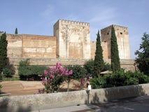 alcazaba utanför Royaltyfri Bild