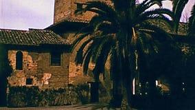 Alcazaba von Alhambra von Granada stock video