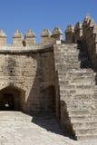 Alcazaba von Almeria Lizenzfreie Stockfotos