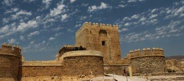 Alcazaba w Almeria; Andalucia; Hiszpania Obrazy Royalty Free