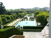 Alcazar των χριστιανικών κήπων μοναρχών Στοκ Εικόνα