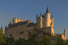 Alcazar Сеговии (замок Сеговии) Стоковое фото RF