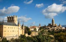 Alcazar, Сеговия, Испания Стоковое Фото