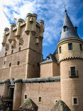 Alcazar, Сеговия, Испания Стоковое фото RF