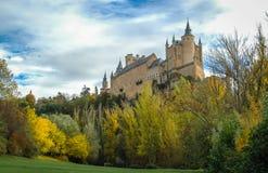 Alcazar, Сеговия, Испания Стоковая Фотография RF