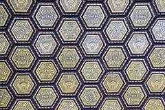 Alcazar. Interior decoration of Alcazar in Seville, Spain Stock Photography