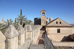 Alcazar in Andalusia Spain Royalty Free Stock Photo