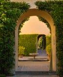 Alcazar archs Royalty-vrije Stock Afbeeldingen