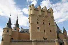 Alcazar av den Segovia slotten Arkivbilder
