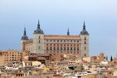 Alcazar av Toledo, Spanien Royaltyfri Fotografi
