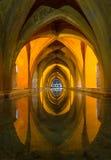 Alcazar baths, Cordoba. Beautiful baths under the Alcazar in Cordoba, Andalucia, Spain Stock Images