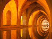 Alcazar baths of Lady Maria de Padilla, Seville Royalty Free Stock Photos