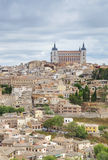 Alcazar in Beautiful Toledo, Spain Royalty Free Stock Images