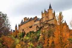 Alcazar castle Stock Image