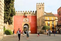 Alcazar castle Royalty Free Stock Photography
