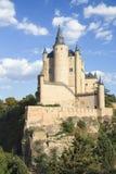 Alcazar Castle in Segovia, Spain Stock Images