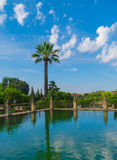 Alcazar of the Christian kings, Cordoba. Royalty Free Stock Images