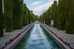 Alcazar of the Christian kings Royalty Free Stock Images