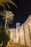 Alcazar of the Christian Monarchs, Cordoba, Spain Stock Images