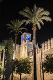 Alcazar Christian Monarchss, Cordoba, Spanien Stockbild