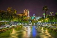 Alcazar Christian Monarchss, Cordoba, Spanien Lizenzfreie Stockfotografie
