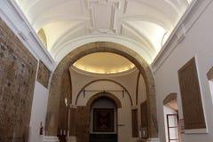 Alcazar Christian Monarchss, Cordoba, Spanien Hall von Mosaiken Lizenzfreie Stockfotografie