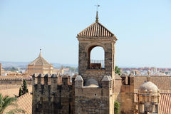 Alcazar of Cordoba Stock Photography