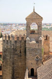 Alcazar of Cordoba Royalty Free Stock Photography