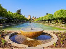 Alcazar in Cordoba, Spain Royalty Free Stock Photos