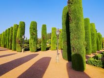 Alcazar in Cordoba, Spain Stock Images