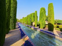Alcazar in Cordoba, Spain Royalty Free Stock Photography