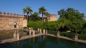 Alcazar a Cordova, Spagna archivi video