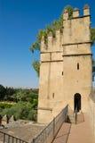 Alcazar da torre Fotografia de Stock