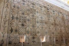 Alcazar de Christian Monarchs, Cordoue, Espagne Hall des mosaïques Photo stock
