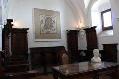 Alcazar de Christian Monarchs, Cordoue, Espagne Hall des mosaïques Image stock